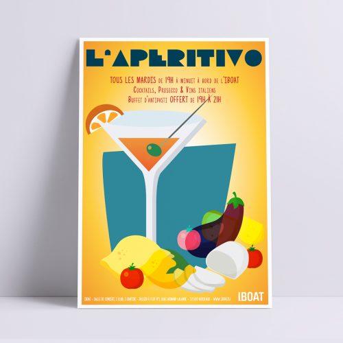 Iboat_aperitivo_poster_UNE