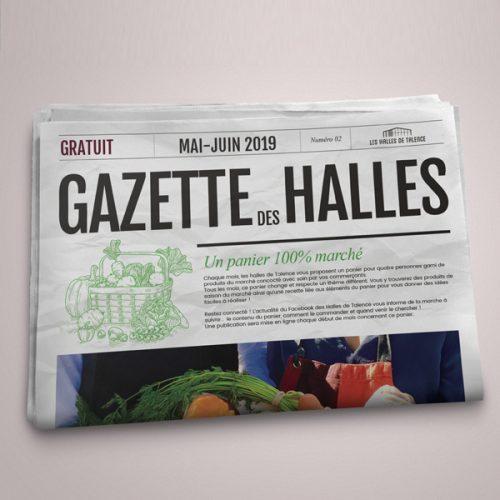 Gazette ds Halles de Bacalan